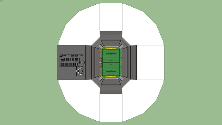 FIFA Stadium Dome (beware there might be some lag)