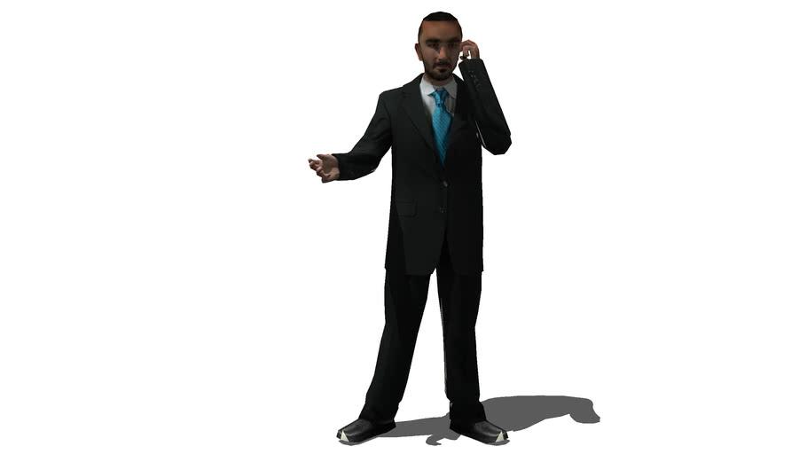 Business Man 01 Standing
