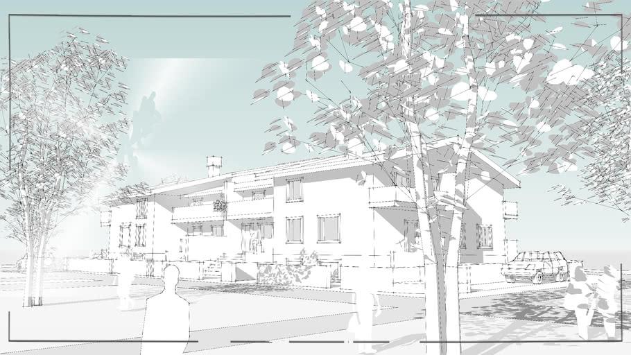 Houses Sketch