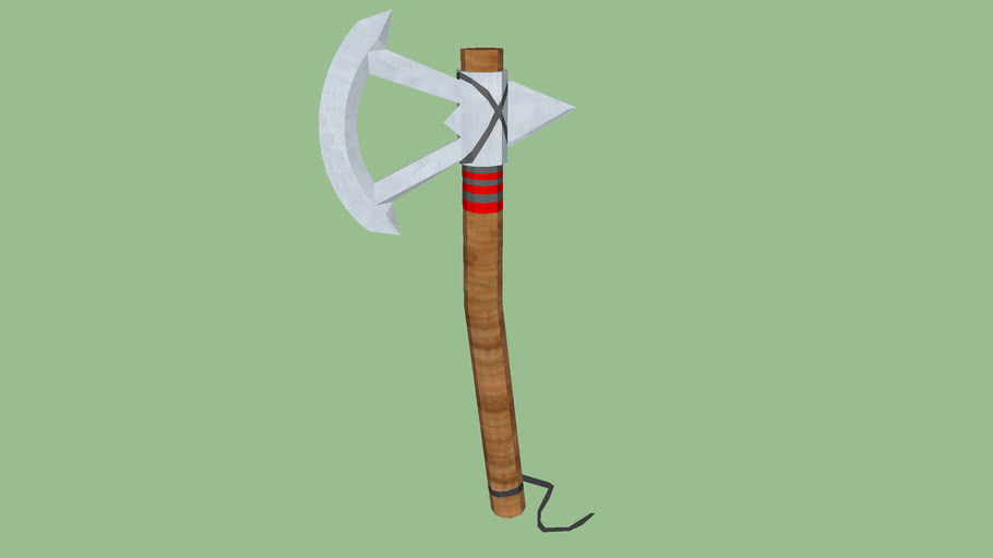 Assassins Creed Iii Tomahawk 3d Warehouse