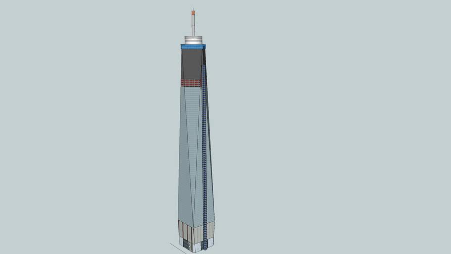 1 WTC Under Construction (June)