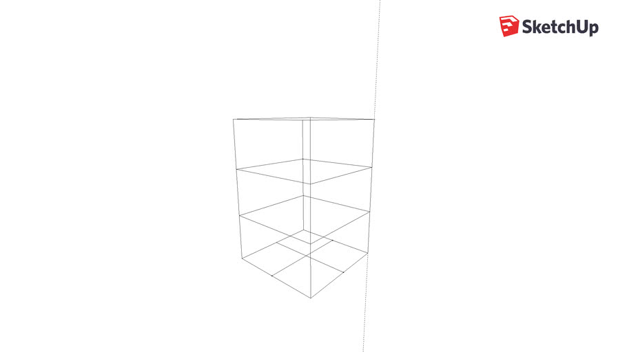 Toothpick Tower Frame
