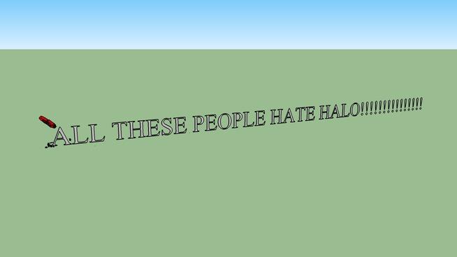 I HATE HALO!!!!!!!!!!!!!!!!!!!!!!