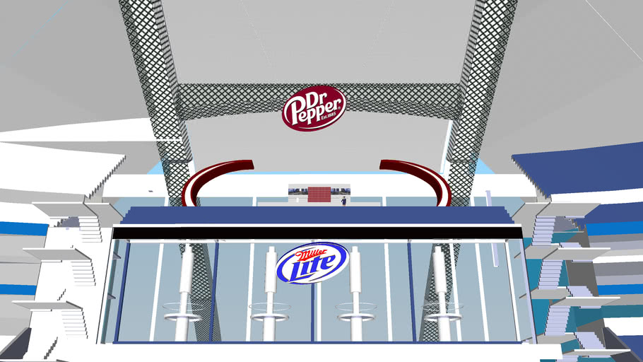 Dr. Pepper Logo / Dallas Cowboys Stadium