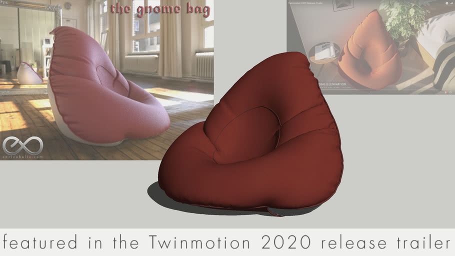 "Bean Bag ""The Gnome Bag"""