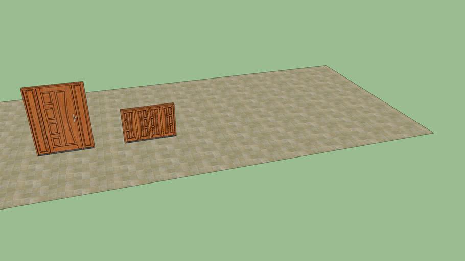 Porta e Janelade madeira