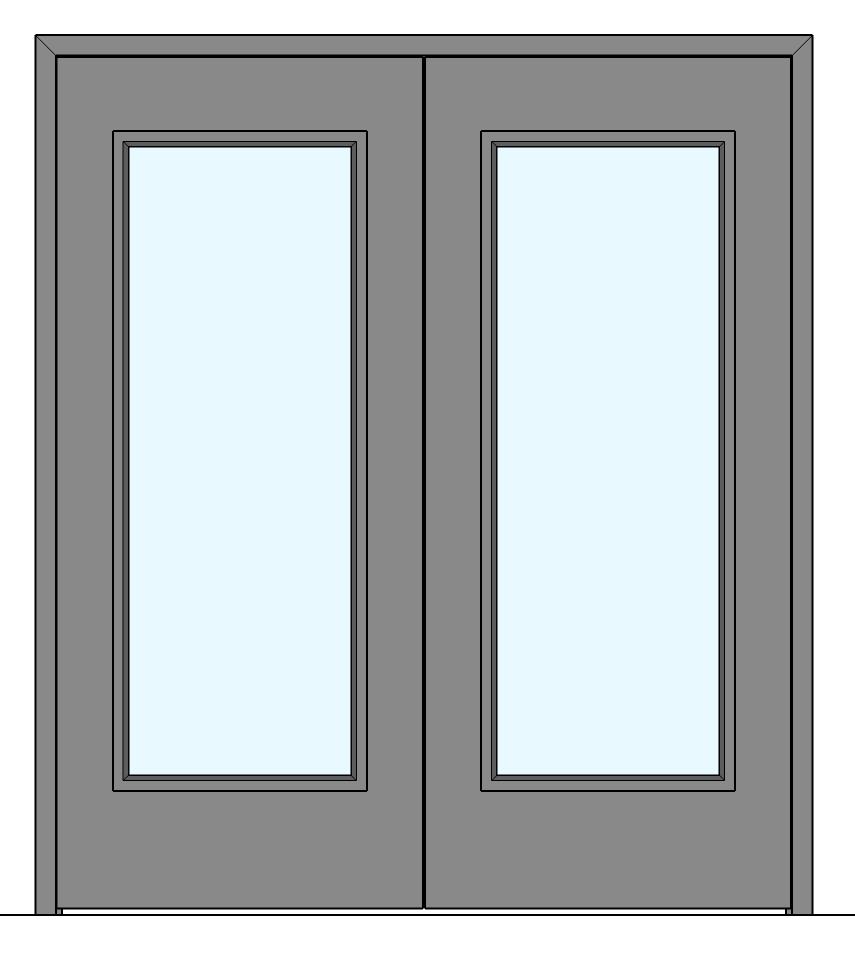 Steel door pairs collection