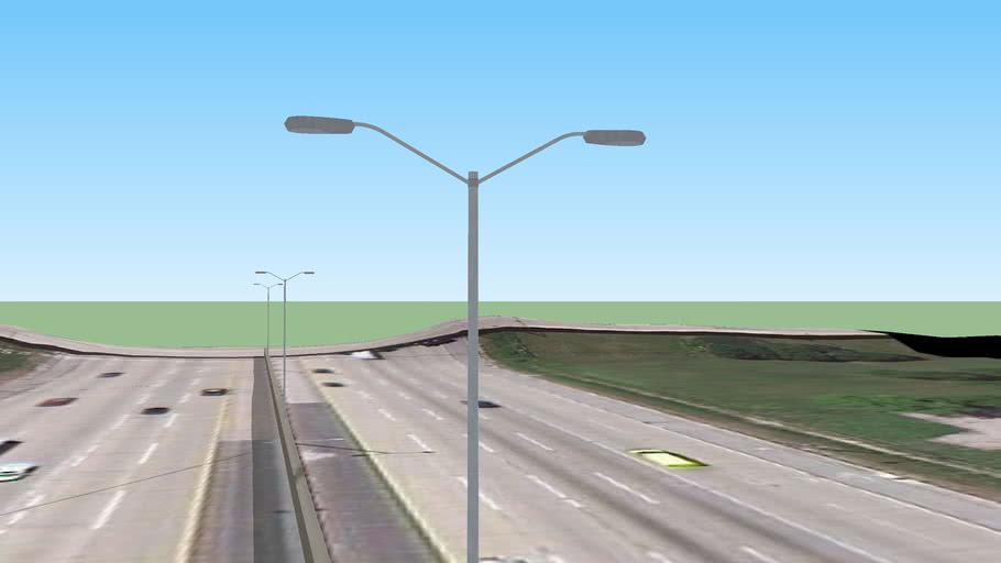 Street  Lights on I-294 via Tri State Tollway