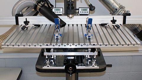 X-Y DRO Drill Press Table