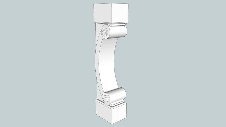 Corbel Pillar