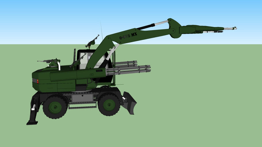 caterpillar machine weapon