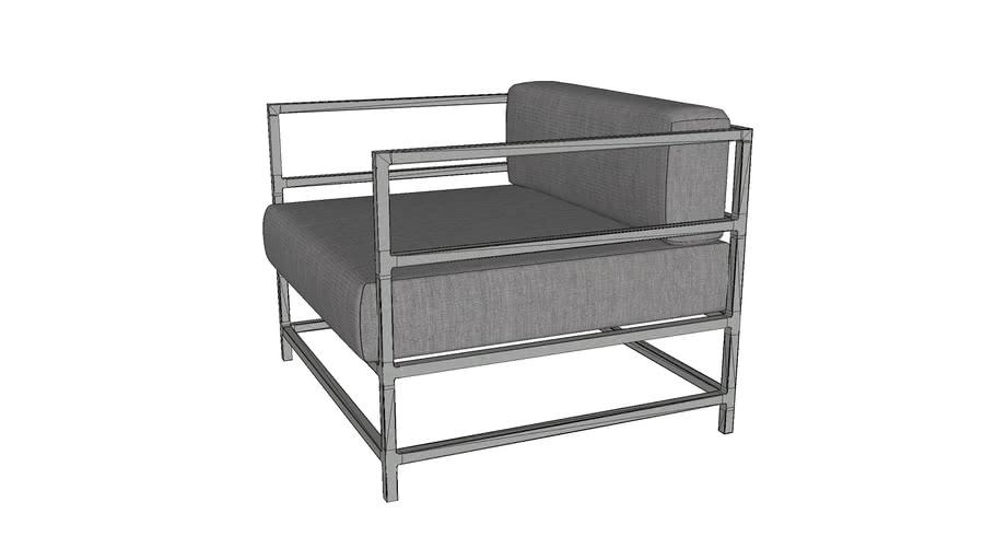 Source Furniture SF-3209-101 Delano Club Chair