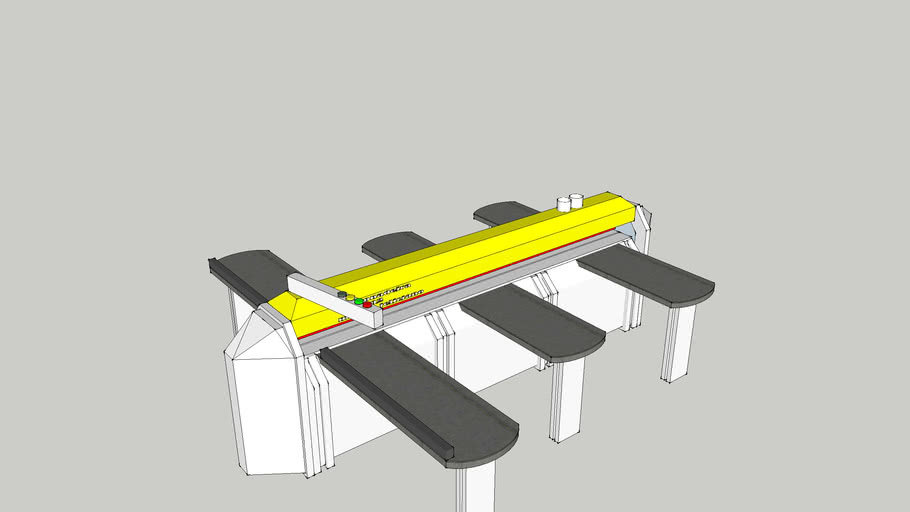 secsionadeira horizontal