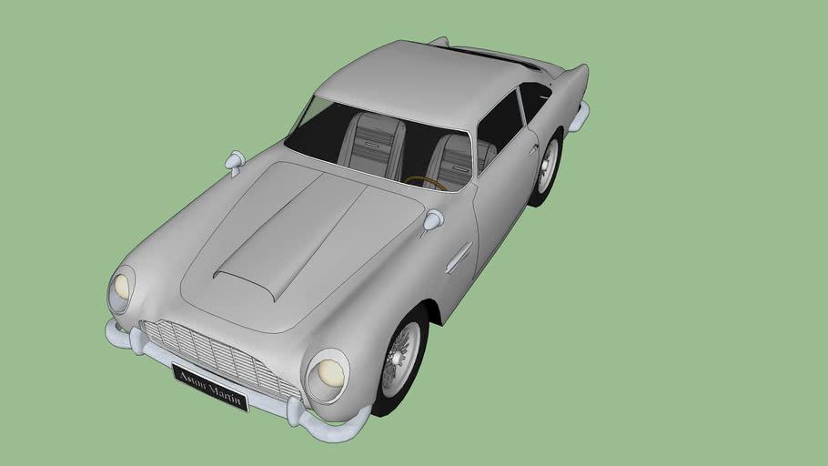 Aston Martin Db5 007 3d Warehouse