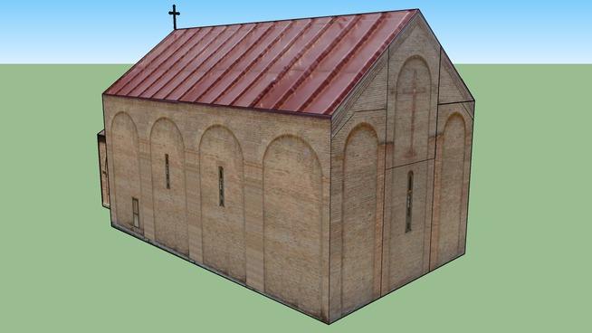Tsminda nikolozis saxelobis eklesia, church