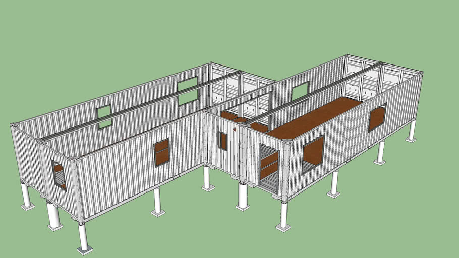 WRW Home - Containers and Foundation