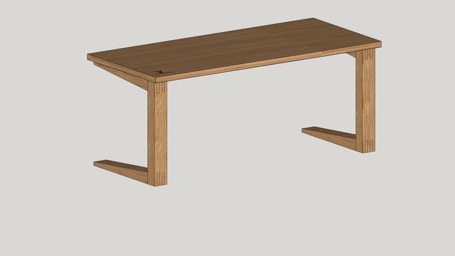 Eichenfrau form205 dining table Esstissch