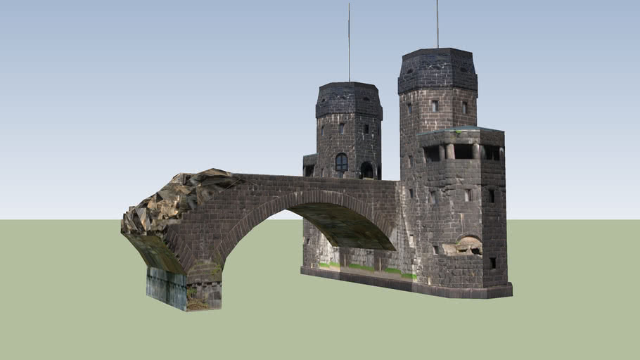 Ludendorff Bridge, Remagen, Germany