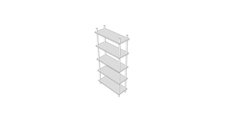 M2050 - Shelving, Storage, 75hx36wx14d
