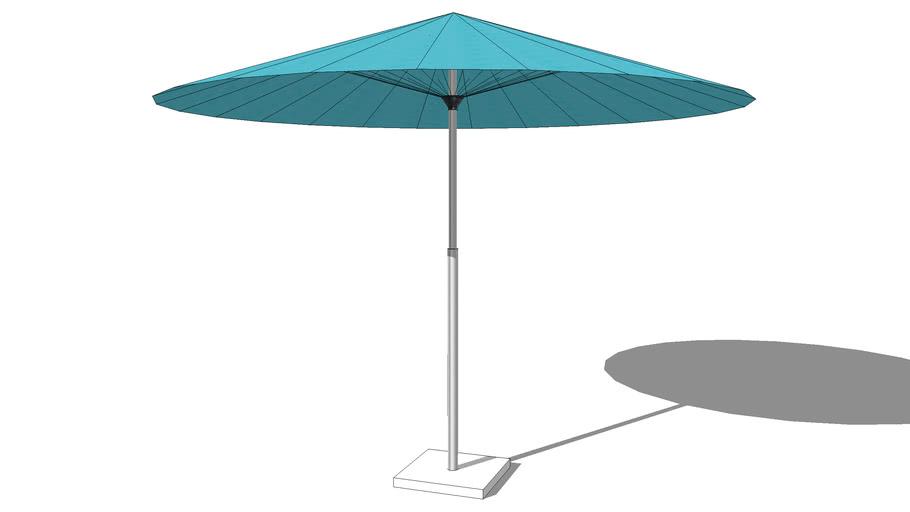 Parasol PAPAYE bleu, Maisons du monde. Réf: 129.644 Prix:69€