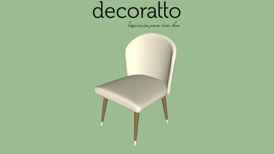 CADEIRA DECORATTO ILLY