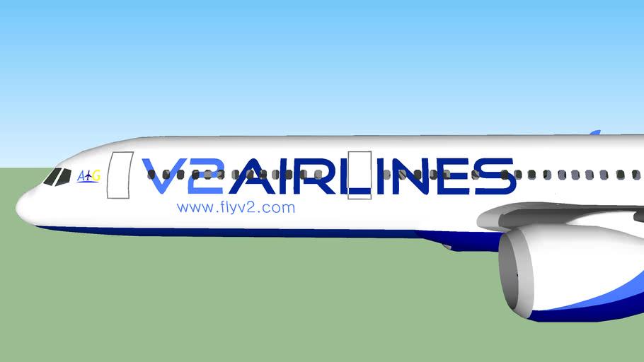V2 Airlines Boeing 757-232