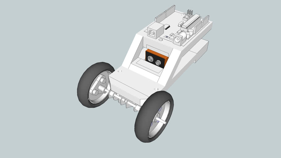 RepRappable Arduinobot (With Attachements) (Early Version)
