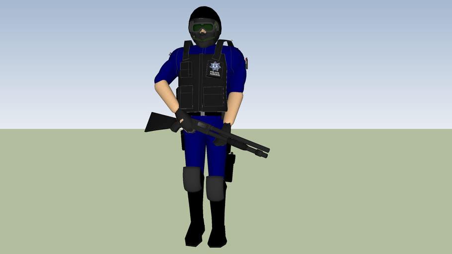 ELEMENTO POLICIA FEDERAL SSP  PFP