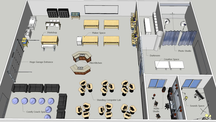 David Hotler's Ideal Teaching and Learning Space