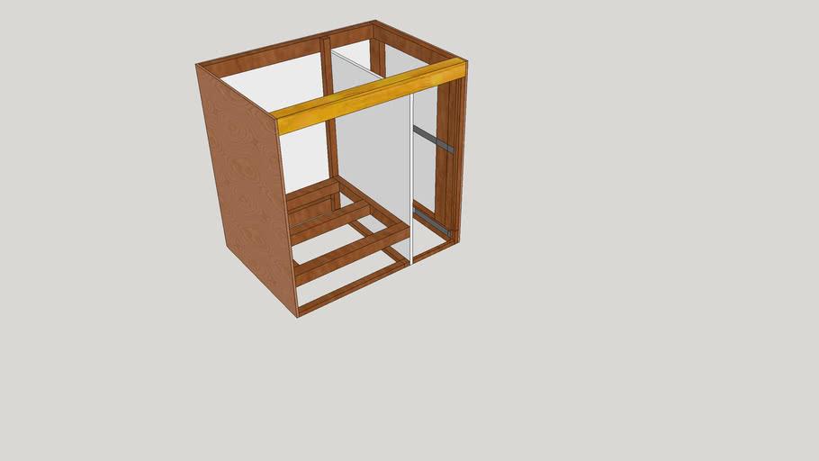 struttura mobile cucina