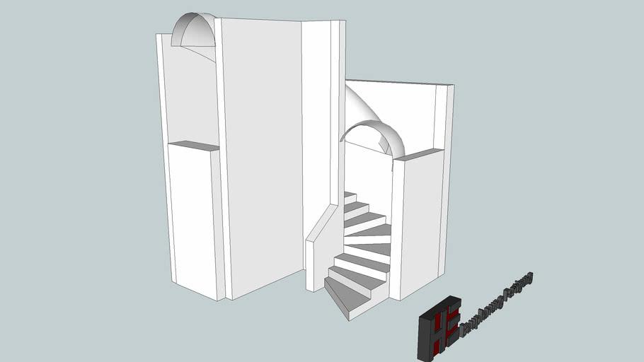 Fertigtreppe; Treppenschalung; Architektur; Bauplanung;