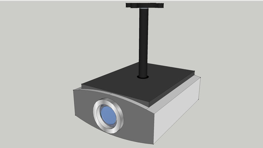 JVC Projector on Chief Mount