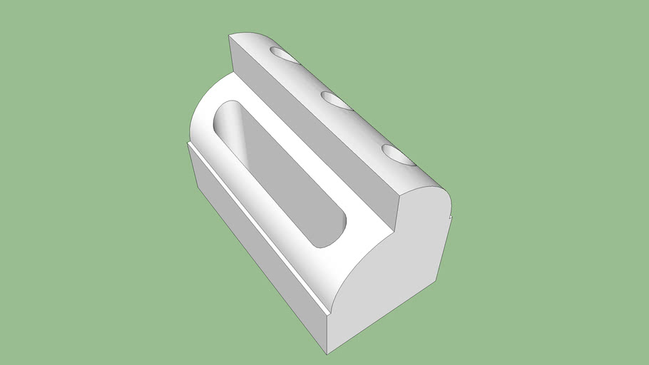 Printable Desktop Pen Holder