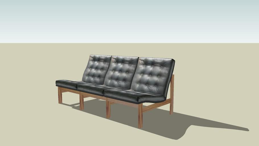 Danish modern sofa