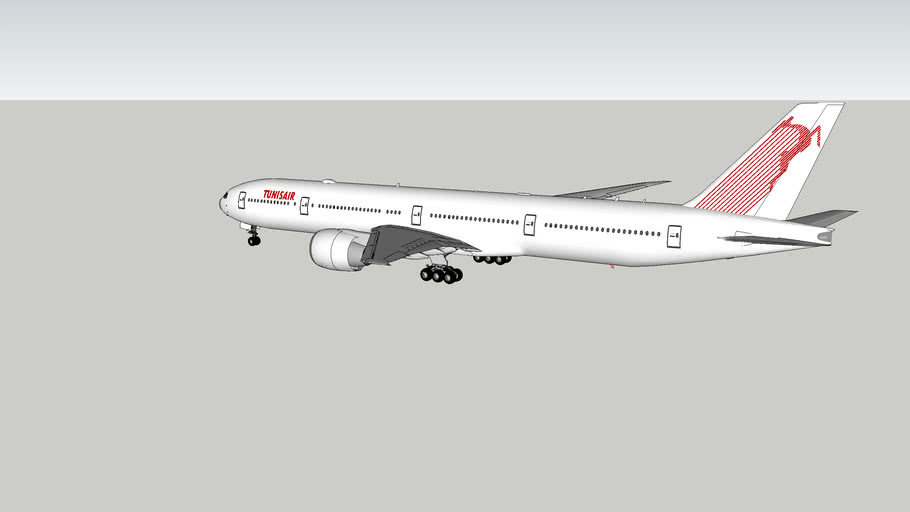 Tunisair Boeing 777-300ER
