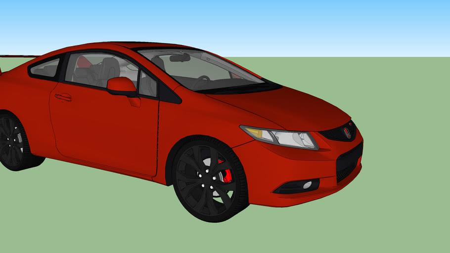 Honda Civic SI Coupe Custom