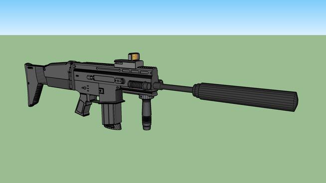 FN SCAR (suppressed)