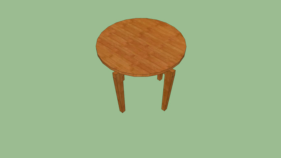 Coffee Table Petite Table Ronde 3d Warehouse