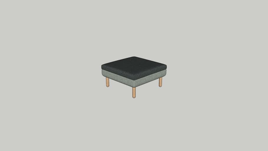 Logan foot stool 80 W