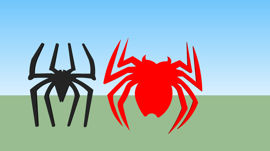 Spider-Man 2002 Front Spider And Back Spider