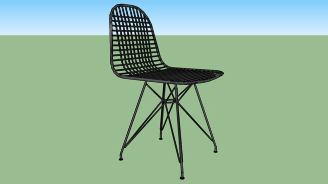 Lever Herman Miller Wire Chair