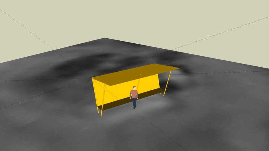 Przystanek autobusowy - Pniowiec pętla