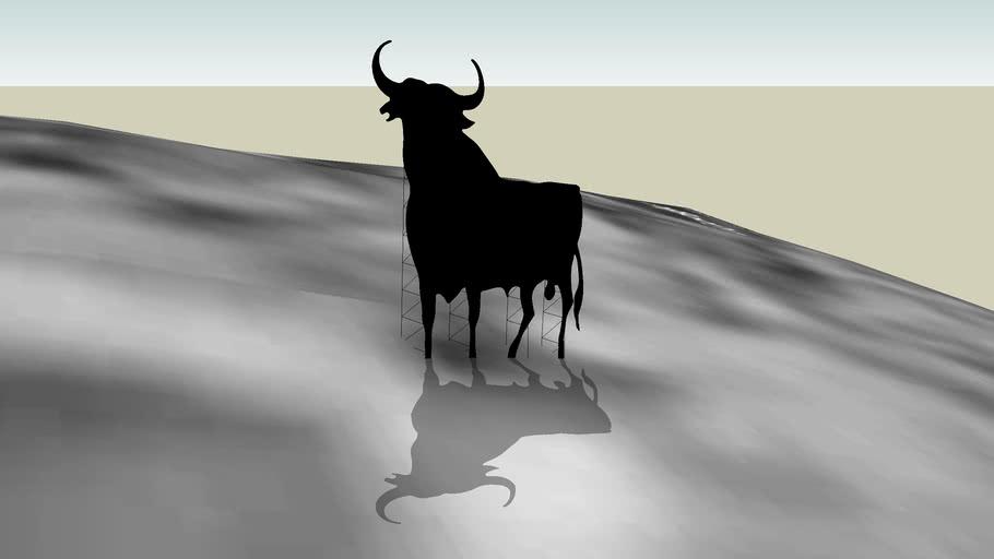 Toro en Alfajarín