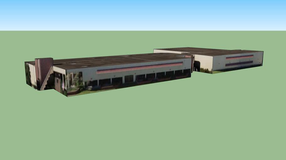 Bâtiment situé Houston, Texas, États-Unis
