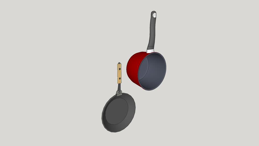 Utensílios de cozinha - Panela