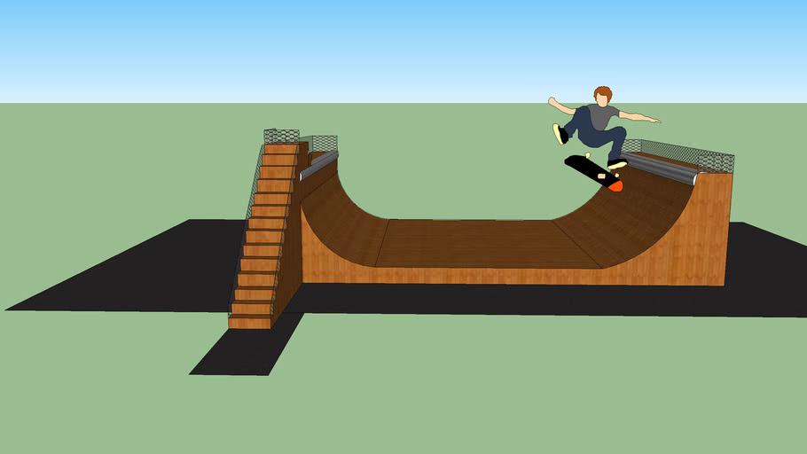 Half - Pipe de skate