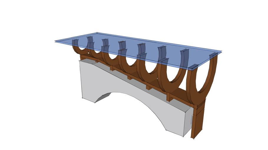 Rib Coffee Coffee Table