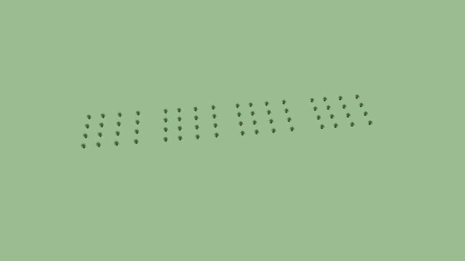 Matriz de plabntas