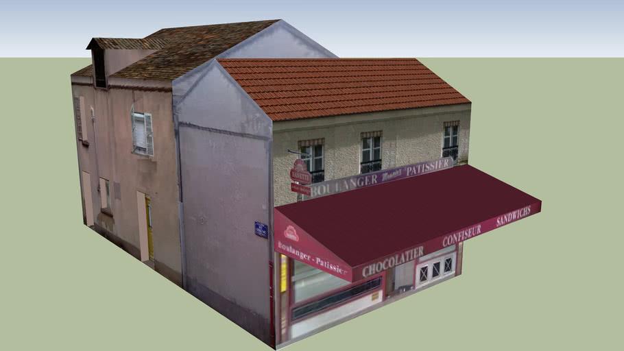 Viroflay - Boulangerie au centre ville