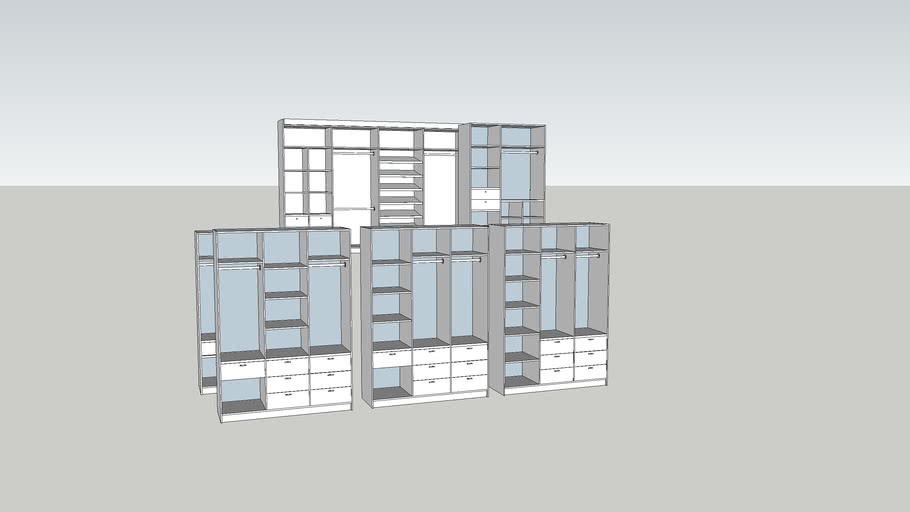 cabinet 3sections
